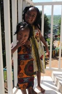 The women also make dresses for the community's children!