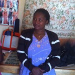 The amazing Aline Malekera, Partner and Administrator of Mamafrica!
