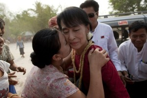 Aung San Suu Kyi, former political prisoner and now elected Parliament member of Burma, is one of the fiercest people of the century.