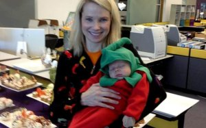 Marissa Mayer, CEO of Yahoo, doesn't care what people think of her as a working mom.