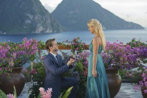 """""""I'm totally in love with this island and $40,000 ring — I mean, you."""""""
