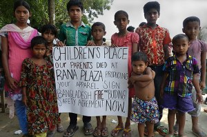 Retailer Children's Place refuses to pay compensation to the orphans left behind after the Rana Plaza fire (photo courtesy of orphansplace.com).