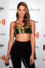 Carmen Carrera, a transgender model, is auditioning to be a Victoria's Secret Angel (photo courtesy of Getty Images).