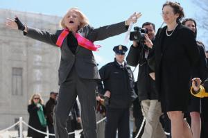 Edith Windsor, redefining fierce after her Supreme Court win.