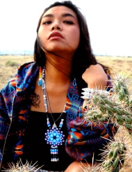 The Paul Frank/Native designer collab featured this gorgeous necklace by Autumn Gomez of The Soft Musuem (photo courtesy of cnn.com).