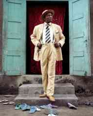 Kahindo cites the Sapeurs, a sartorial subculture from the DRC, as one of her main inspirations.